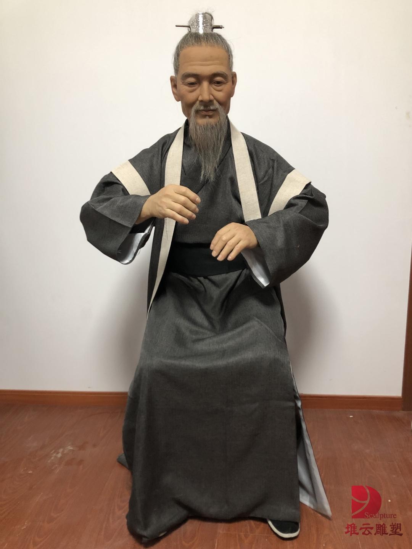 中医文化蜡像
