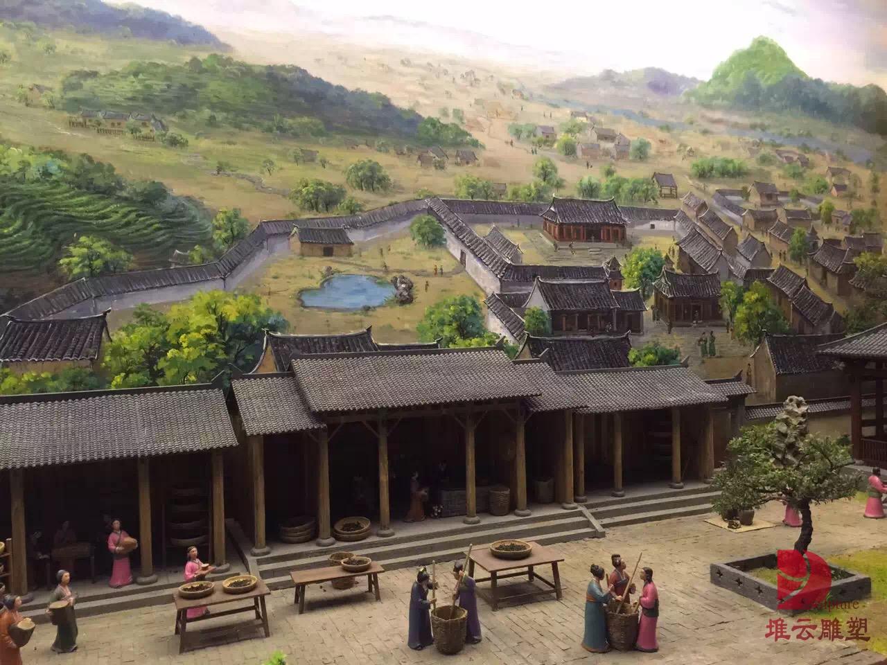 古代建筑场景